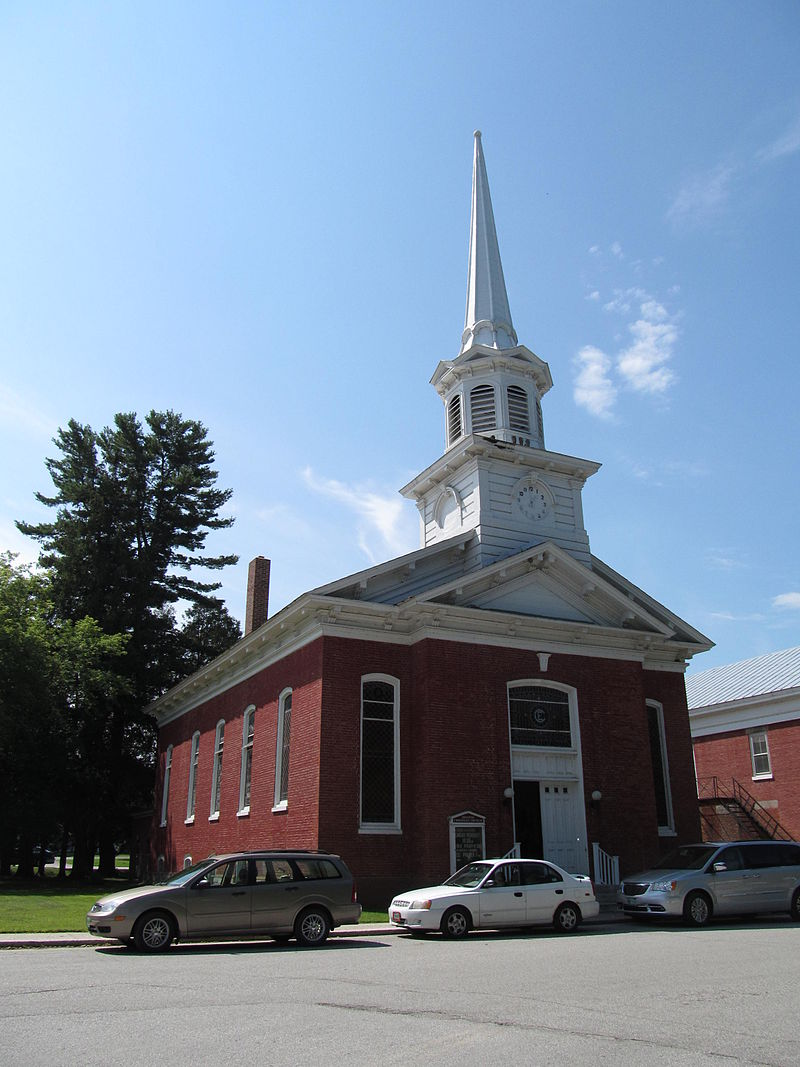 Photo de First Congregational Church of Swanton, Swanton, NRHP01000220