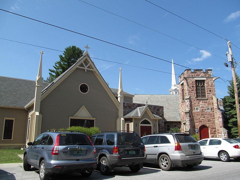 Photo de Parish of the Holy Trinity, Swanton, NRHP01000221