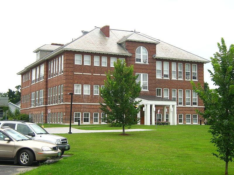 Photo de Swanton School, Swanton, NRHP02000118