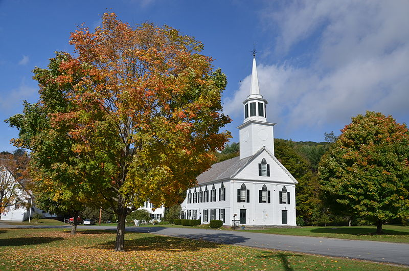 Photo de First Congregational Church and Meetinghouse, Townshend, NRHP02001344