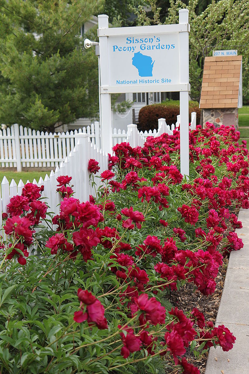 Photo de Sisson's Peony Gardens, Rosendale, NRHP06001193