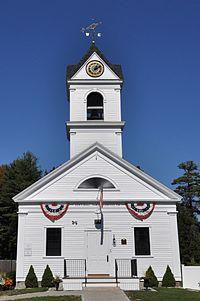 Photo de North Hampton Town Hall, North Hampton, NRHP13000006