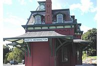 Photo de North Bennington Depot, North Bennington, NRHP73000189