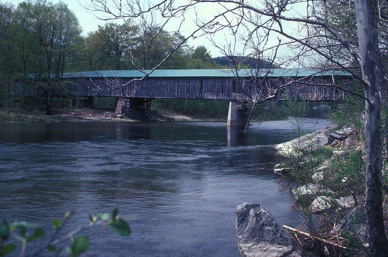 Photo de Scott Covered Bridge, Townshend, NRHP73000206