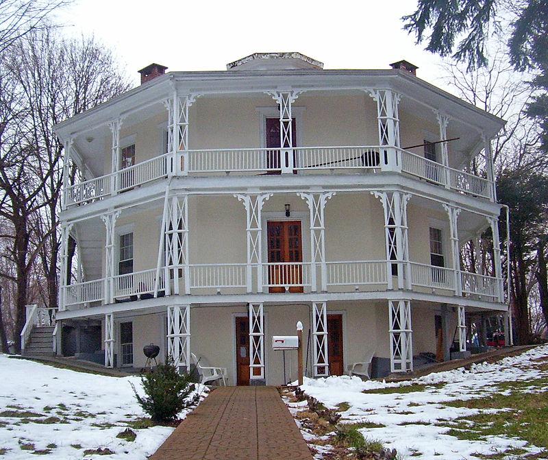 Photo de Octagon House (Danbury), Danbury, NRHP73001945