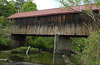 Photo de Thetford Center Covered Bridge, Thetford, NRHP74000247