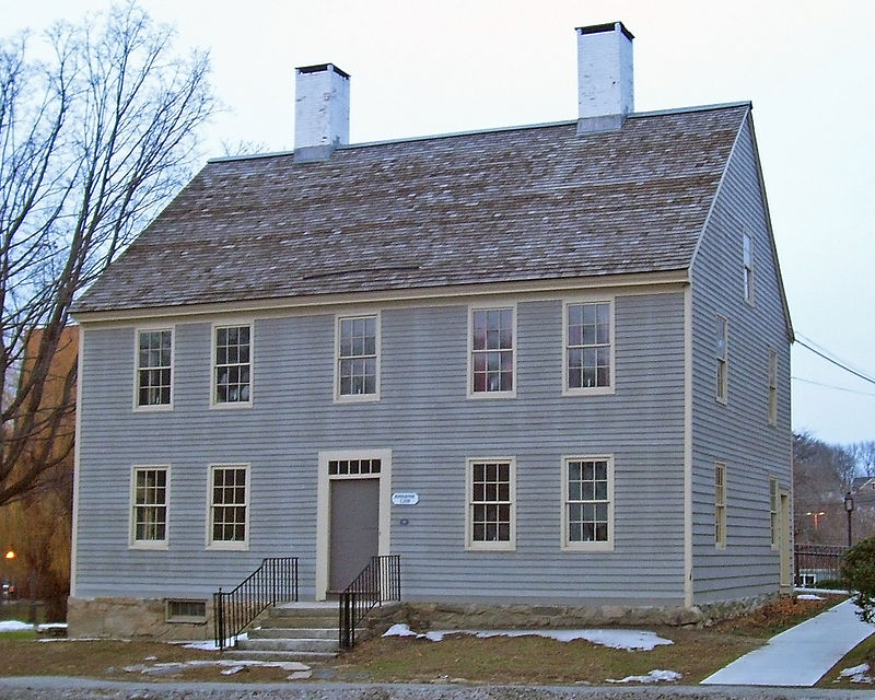 Photo de John Rider House, Danbury, NRHP77001388