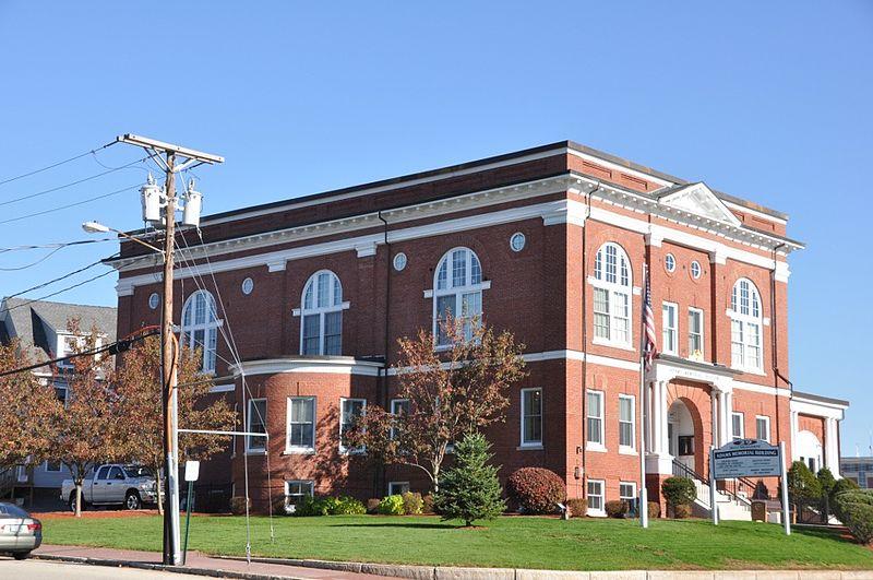 Photo de Adams Memorial Building, Derry, NRHP82001875