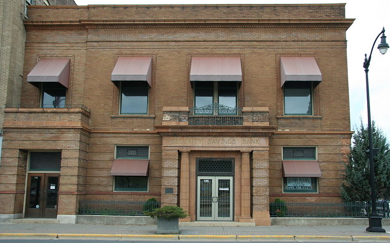 Photo de Wisconsin Telephone Company Building, La Crosse, NRHP85000491