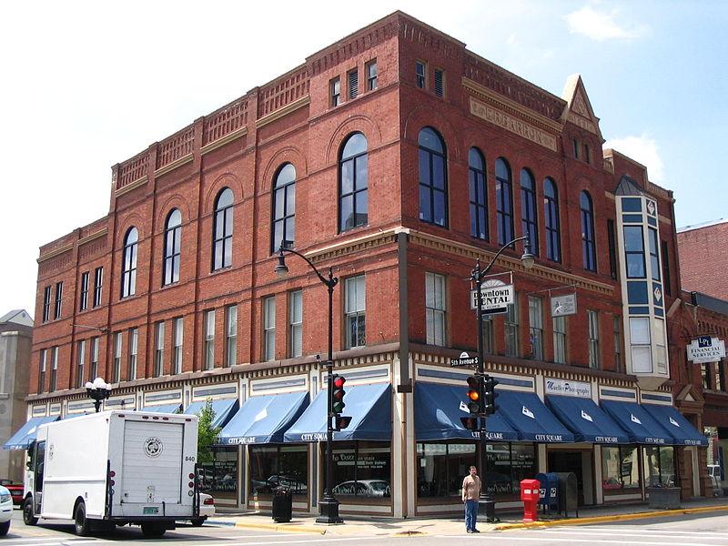 Photo de E.R. Barron Building, LaCrosse, NRHP85001362