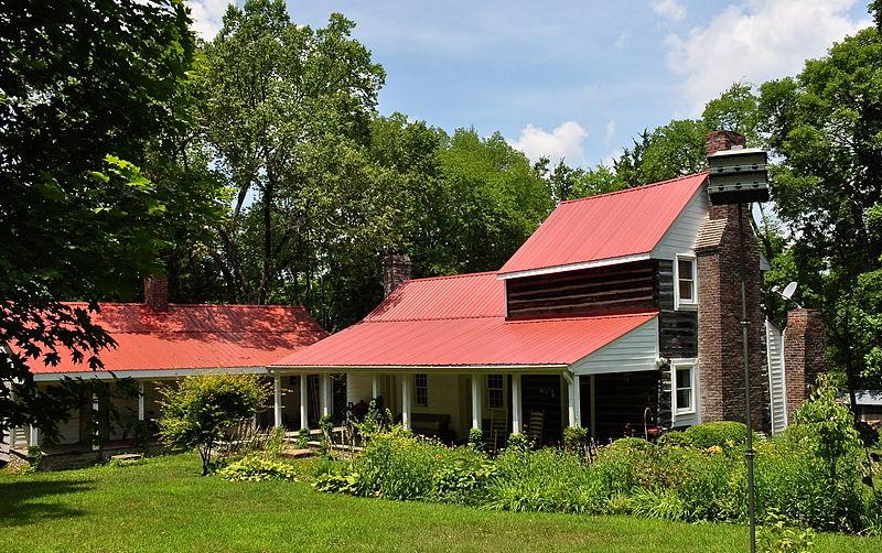 Photo de Benajah Gray Log House, Antioch, NRHP85001512