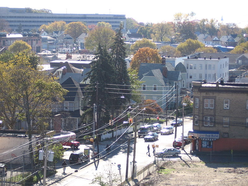 Photo de South End Historic District, Stamford, NRHP86000472