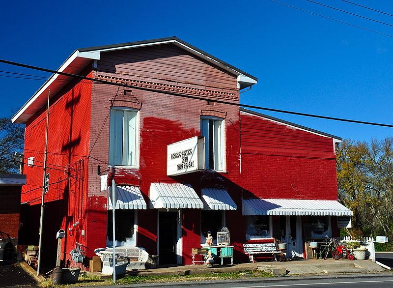 Photo de Bank of Nolensville, Nolensville, NRHP88000287