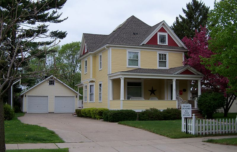 Photo de William J. Bernd House, New Richmond, NRHP88000616