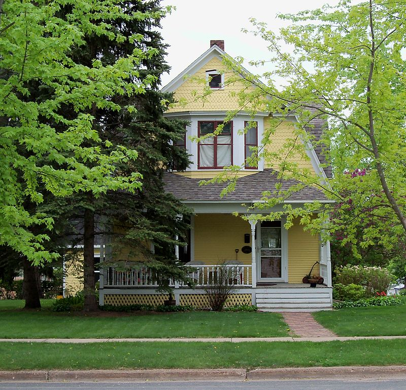 Photo de Joseph Mielke House, New Richmond, NRHP88000621