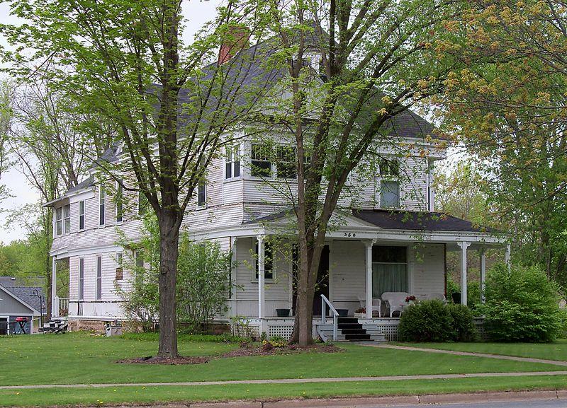 Photo de Erick J. Thompson House, New Richmond, NRHP88000624