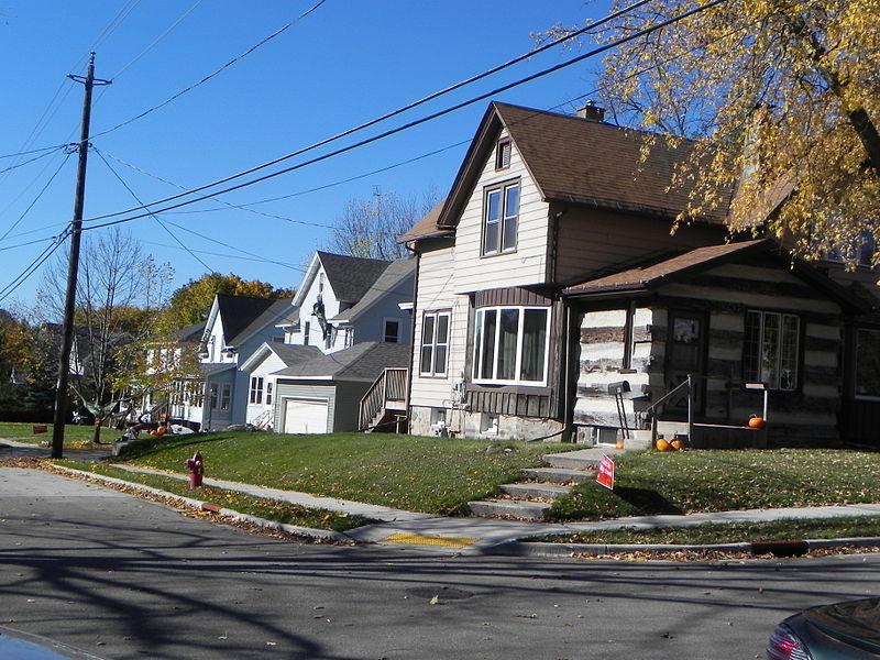 Photo de Kissel's Addition Historic District, Hartford, NRHP88002071