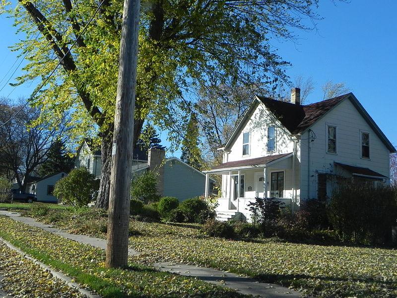 Photo de Kissel's Wheelock Addition Historic District, Hartford, NRHP88002072