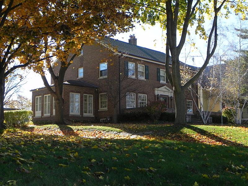 Photo de George A. Kissel House, Hartford, NRHP88002075