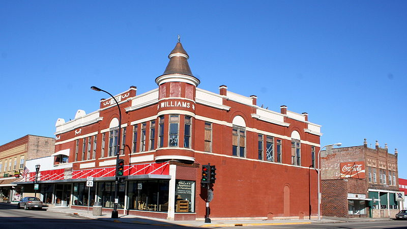 Photo de Water Street Commercial Historic District, Sparta, NRHP92001554
