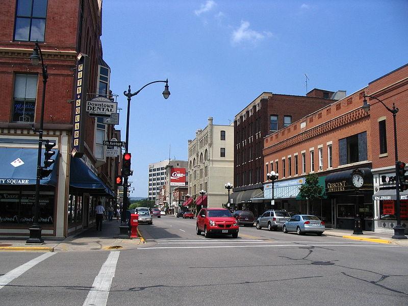 Photo de LaCrosse Commercial Historic District, LaCrosse, NRHP94001064