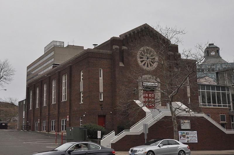 Photo de Agudath Sholem Synagogue, Stamford, NRHP95000561