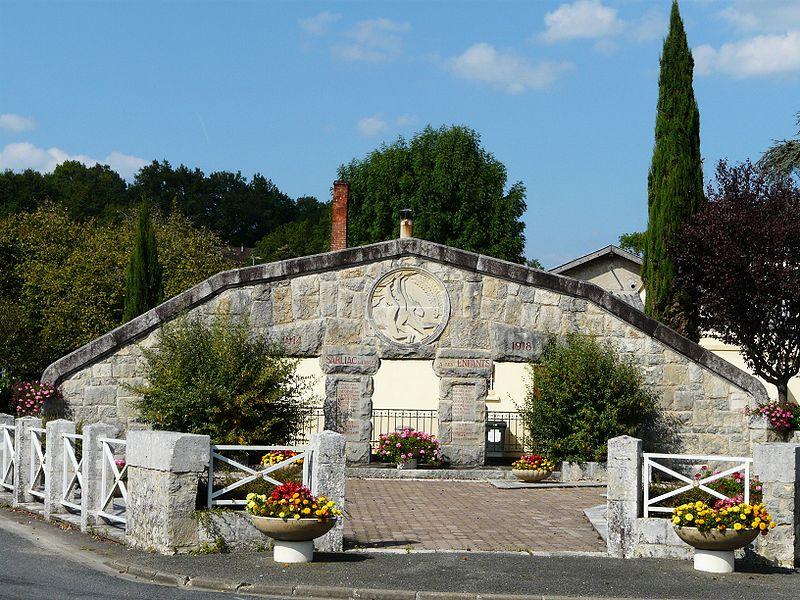 Photo de Monument aux morts, Sarliac-sur-l'Isle, PA24000089